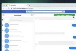 Hướng dẫn xóa tất cả tin nhắn Facebook một lúc