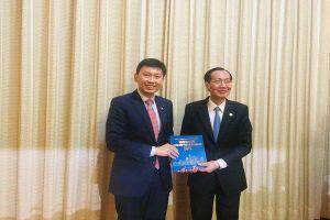 Singapore muốn góp phần xây dựng đô thị thông minh ở TPHCM