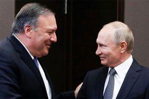 Bất đồng nổi cộm khi Tổng thống Putin tiếp Ngoại trưởng Pompeo