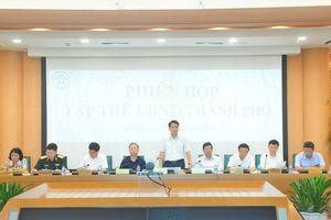 Tập thể UBND TP Hà Nội xem xét, quyết định một số nội dung thuộc thẩm quyền