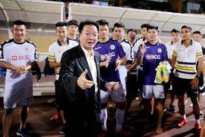 Vì bầu Hiển, Hà Nội quyết tâm giành vé đi tiếp ở AFC Cup 2019