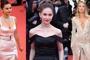 Loạt mỹ nhân siêu vòng 1 làm 'náo loạn' thảm đỏ Cannes 2019