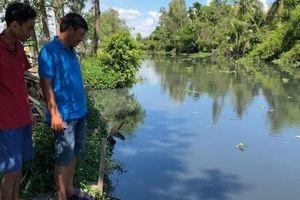 Nhà máy mía đường tại Hậu Giang là nguyên nhân gây ô nhiễm trên sông Cái Lớn