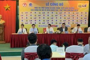 Thái Sơn Bắc tiếp tục đồng hành cùng Giải Bóng đá nữ Vô địch Quốc gia 2019