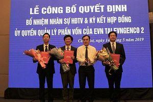 Tập đoàn Điện lực Việt Nam công bố các quyết định nhân sự HĐTV tại EVNGENCO 2