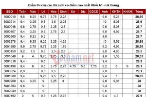 Điều chuyển công tác 2 thanh tra thi vắng mặt không phép tại Hà Giang