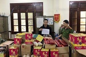 Phát hiện vụ vận chuyển pháo lớn từ Lạng Sơn về Nghệ An tiêu thụ
