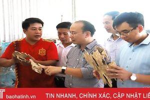 Hà Tĩnh lựa chọn 4 sản phẩm OCOP chỉ đạo điểm trung ương