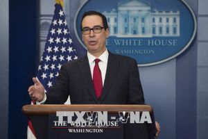 Bộ trưởng Tài chính Mỹ để ngỏ khă năng sớm tới Trung Quốc