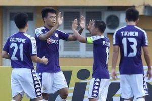 Thành Chung lập công, Hà Nội FC thẳng tiến vào vòng knock out AFC Cup