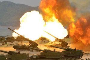 Không cần tên lửa, pháo binh Triều Tiên đủ sức san phẳng Hàn Quốc