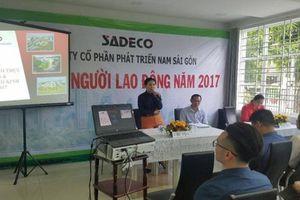 Bắt nữ Tổng giám đốc Công ty CP phát triển Nam Sài Gòn