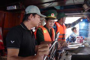 Phát hiện 07 phương tiện vi phạm hành lang an toàn đường ống khí Nam Côn Sơn dưới biển