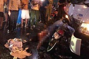 Hưng Yên: Xe cứu hộ đâm thằng vào xe máy chở 4, người mẹ 20 tuổi tử vong