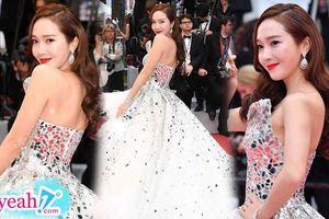 Jessica Jung lộng lẫy như công chúa, 'chặt đẹp' dàn sao Hollywood trên thảm đỏ LHP Cannes 2019