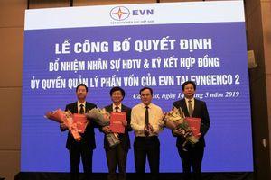Công bố các quyết định nhân sự HĐTV tại EVNGENCO 2
