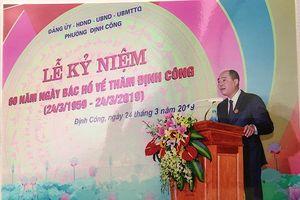 Đảng bộ phường Định Công làm theo lời Bác Hồ dạy