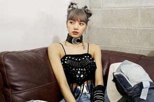 'Công chúa' Lisa ( Black Pink) cá tính khác lạ trong bộ ảnh mới