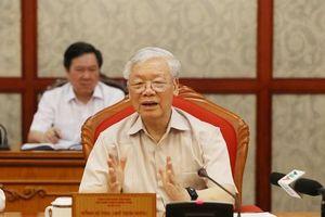 Tổng Bí thư, Chủ tịch nước Nguyễn Phú Trọng: 'Cứ sắp đến đại hội là nhăm nhăm đi thu xếp'