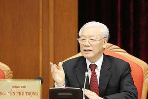 Tổng Bí thư, Chủ tịch nước chủ trì Hội nghị lần thứ mười Ban Chấp hành Trung ương Đảng khóa XII