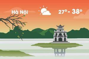 Thời tiết ngày 16/5: Hà Nội nắng nóng gay gắt 38 độ C