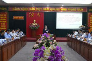 Thanh Oai cần đẩy mạnh cải cách hành chính bắt đầu tư cấp xã