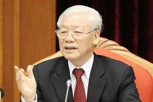 Tổng Bí thư nhấn mạnh công tác chuẩn bị văn kiện trình Đại hội XIII