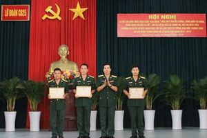 Lữ đoàn Công binh 25 (Quân khu 9) đẩy mạnh học tập và làm theo gương Bác