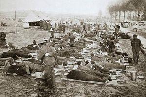 Loạt hình ám ảnh trận Somme đẫm máu nhất Thế chiến 1