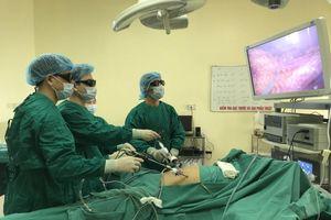 Phẫu thuật thành công ung thư đường tiêu hóa cho bệnh nhân U90