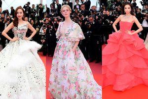 Cận cảnh những chiếc đầm công chúa 'khuynh đảo' thảm đỏ LHP Cannes 2019