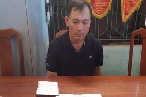 Bắt đối tượng vận chuyển ma túy qua cửa khẩu quốc tế Cha Lo