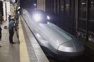 Tàu cao tốc mới của Nhật Bản đạt vận tốc 320 km/giờ