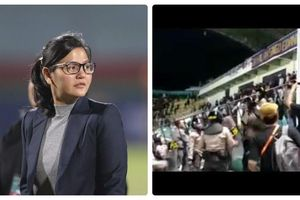 Bóng đá Indonesia lại xảy ra bạo loạn, nữ tổng thư ký dính 'đạn lạc'