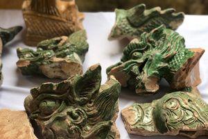 Tận thấy những báu vật mới khai quật dưới lòng đất Hoàng thành