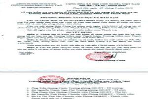 Hà Tĩnh: Phòng GD-ĐT huyện Thạch Hà chỉ đạo xử lý kịp thời thông tin báo nêu