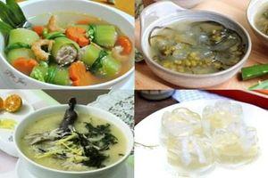 Những món ăn thanh nhiệt ngày hè