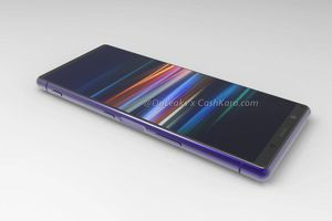 Sony Xperia 2 lộ diện ảnh render đẹp bóng bẩy