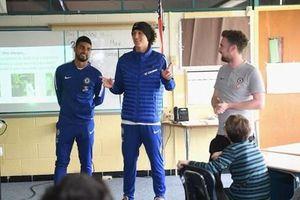 Dàn sao Chelsea gây bất ngờ trước trận đấu từ thiện trên đất Mỹ