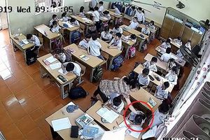 Kiểm tra, xác minh vụ giáo viên đánh liên tiếp vào đầu học sinh