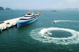 Du thuyền 150 triệu USD đưa ông chủ đội bóng Tottenham đến Quảng Ninh