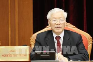 TBT, Chủ tịch nước Nguyễn Phú Trọng khai mạc Hội nghị lần thứ 10, BCHTƯ Đảng khóa XII