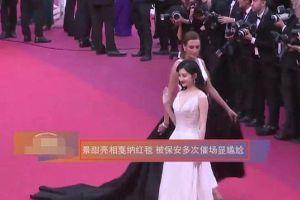 Ê chề hơn cả A hoàn của Cao Quý Phi, Cảnh Điềm bị bảo an 'đuổi khéo' đến ba lần trên thảm đỏ LHP Cannes 2019