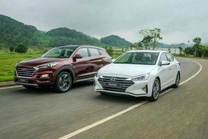 Hyundai tung bộ đôi Elantra, Tucson 2019 với nhiều nâng cấp