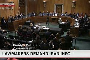 Các nghị sỹ Mỹ yêu cầu Tổng thống thông tin về chính sách đối với Iran