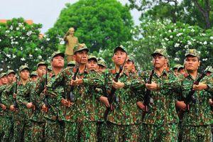 Khai mạc Hội thao Thể dục thể thao Lực lượng vũ trang TP Hồ Chí Minh