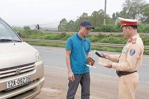 Phạt nghiêm 'ma men' lái xe, TNGT giảm