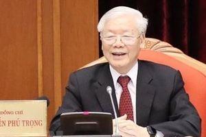 Toàn văn phát biểu của Tổng Bí thư, Chủ tịch nước tại Hội nghị Trung ương 10