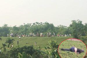 Người đàn ông nghi bị sát hại, phi tang ở ven đê sông Hồng