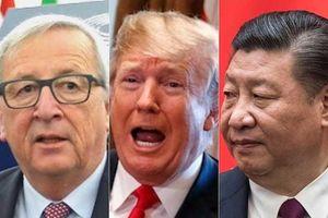 Tam giác thương mại Trung Quốc-EU-Mỹ: Khó xử!